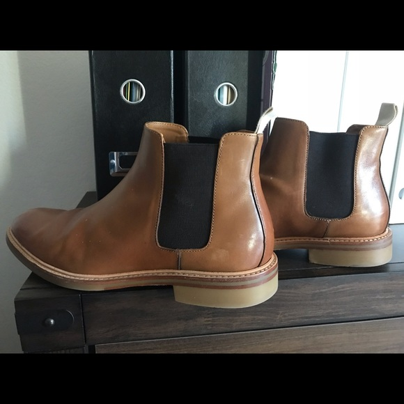 Other - Chelsea Boots leather brown men 10